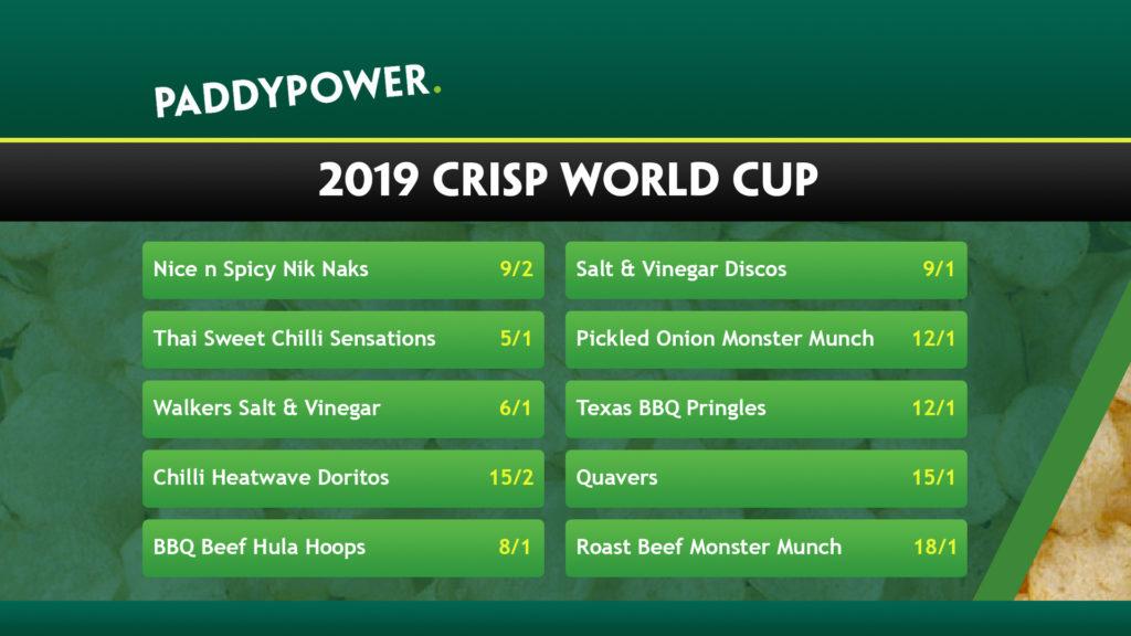 Paddy Power odds