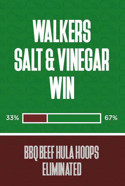 Salt & Vinegar win
