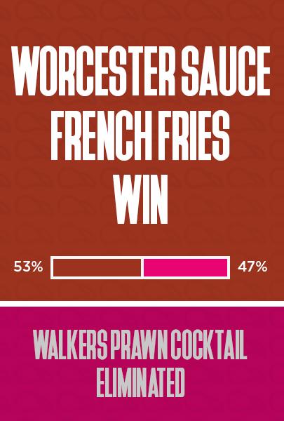 Worcester Sauce wins
